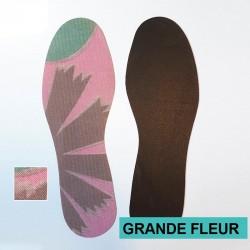 SEMELLES EVEXIA Fines - couleur - Grande Fleur