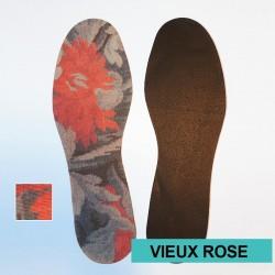 SEMELLES EVEXIA Fines - couleur - Vieux Rose